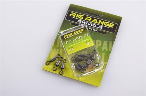 Details about  /ProLine Tackle //Hooklink//Lead Clips//Tail Rubbers//Swivels//Rig Tube//Sleeves//Stops