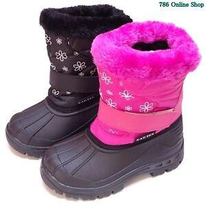 Kinder-Schuhe-Boots-winterschuhe-65A-winterstiefel-stiefel-Schuhe-Neu