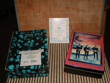 HAMILTON 1991 LTD & NO. BEATLES, I WANT TO HOLD YOUR HAND MUSIC BOX W/BOX & CERT