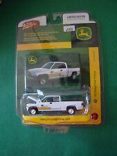 Johnny Lightning John Deere 2000 '00 Dodge Ram Pickup White 1:64 MOC 2008