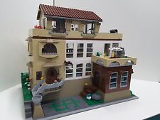 Erockzart Lego custom modular Millionaire celebrity mansion modular house party