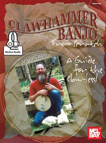 CLAWHAMMER BANJO FROM SCRATCH BOOK NEW
