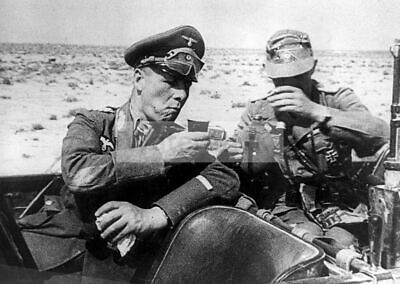 WW2 Picture Photo Germany 3rd Reich General Erwin Rommel Afrikakorps 3350