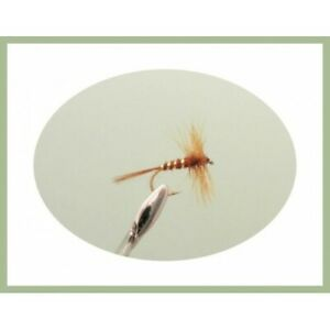 White Moths Choice of sizes 6 Pack Dry Fly Dry Trout flies Fishing flies