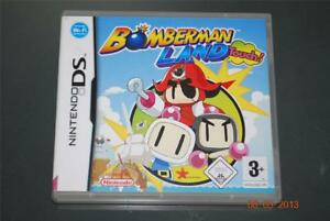 BOMBERMAN-LAND-TOUCH-NINTENDO-DS-3ds-PAL-Reino-Unido