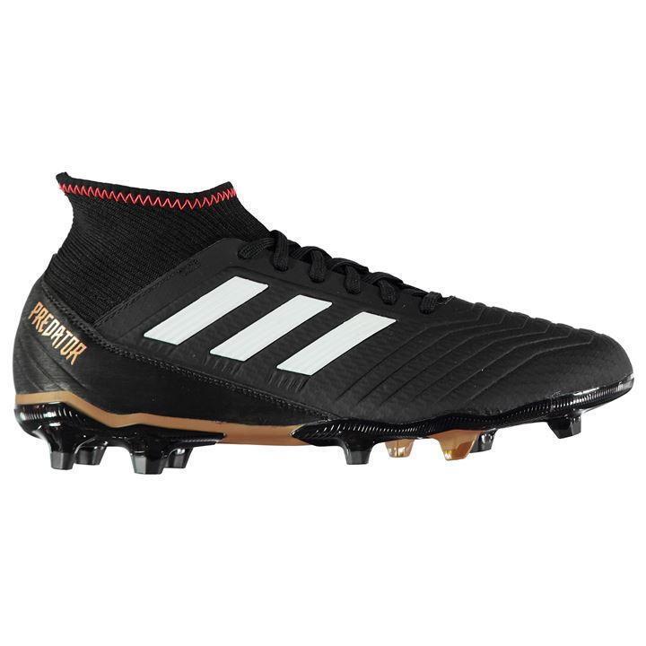 Adidas Predator 18.3 Mens FG Football Boots US 9.5  3 REF 2110=
