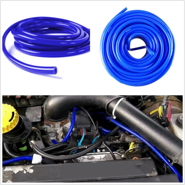 5 Meters 4mm Blue Vehicle Silicone Rubber Vacuum Tube Boost Air Hose Pipe Tubing
