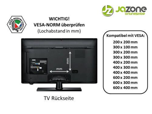 TV Fernseher Wandhalterung A55 für THOMSON 54,6 Zoll 55UD6306 und 55UD6326