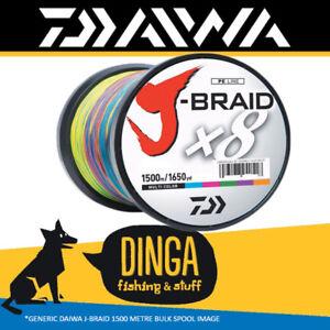 Daiwa-J-Braid-80lb-1500m-Braid-Fishing-Line-Multi-Colour