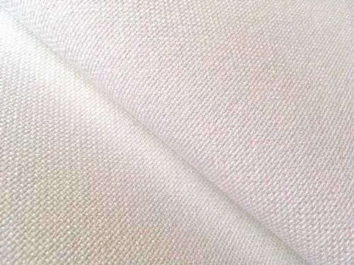 Zweigart Pearl lurex snow glitter 18 count Aida fabric 50 x 55 cm Fat Quarter