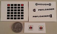 International Pay Loader Full Decal Set Large IH ERTL 1:16 1970s Diecast Hough