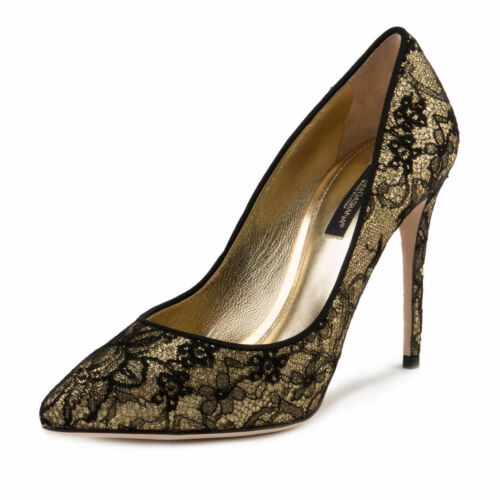 Dolce Bnwb £ taglia Court Gabbana Glitter Uk7 Shoes 40 Rrp 560 ZzrZx0qg