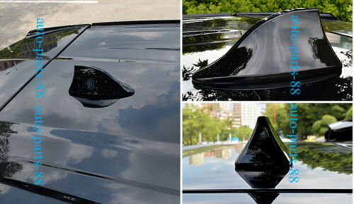 ABS Black Car Roof Shark Fin Antenna Cover Radio For Benz GLK-Class 2010-2013