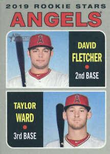 David-Fletcher-Taylor-Ward-2019-Topps-Heritage-74-RC-Angels