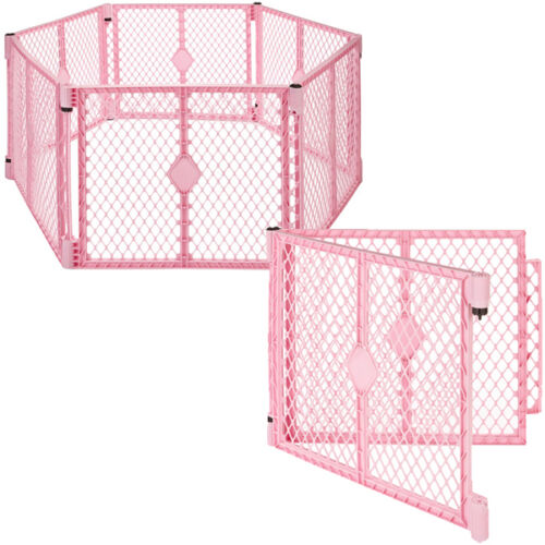 Big 8 Panel Wide Super Playpen Play Yard Baby Pet Dog Enclosure Gate Large Pen