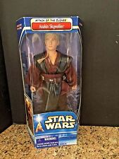"""HASBRO """"ANAKIN SKYWALKER"""" HARD TO FIND ATTACK OF THE CLONES 12"""" NEW IN PACKAGE"""