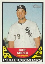 2016 TOPPS HERITAGE JOSE ABREU OF WHITE SOX NEW AGE PERFORMERS #NAP-JA  SP