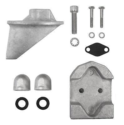 Tecnoseal AK Anodensatz Aluminium für Mercruiser Alpha One Gen 1 Anoden Kit