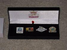 2015 Limited Edition Triple Crown Pin Set (American Pharoah)