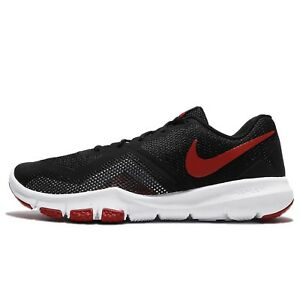 Nike FLEX CONTROL II Mens Black/Gym Red-White 924204-006 Running Shoes