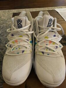 Nike Kyrie 5s White Denim Size 6 1/2 | eBay