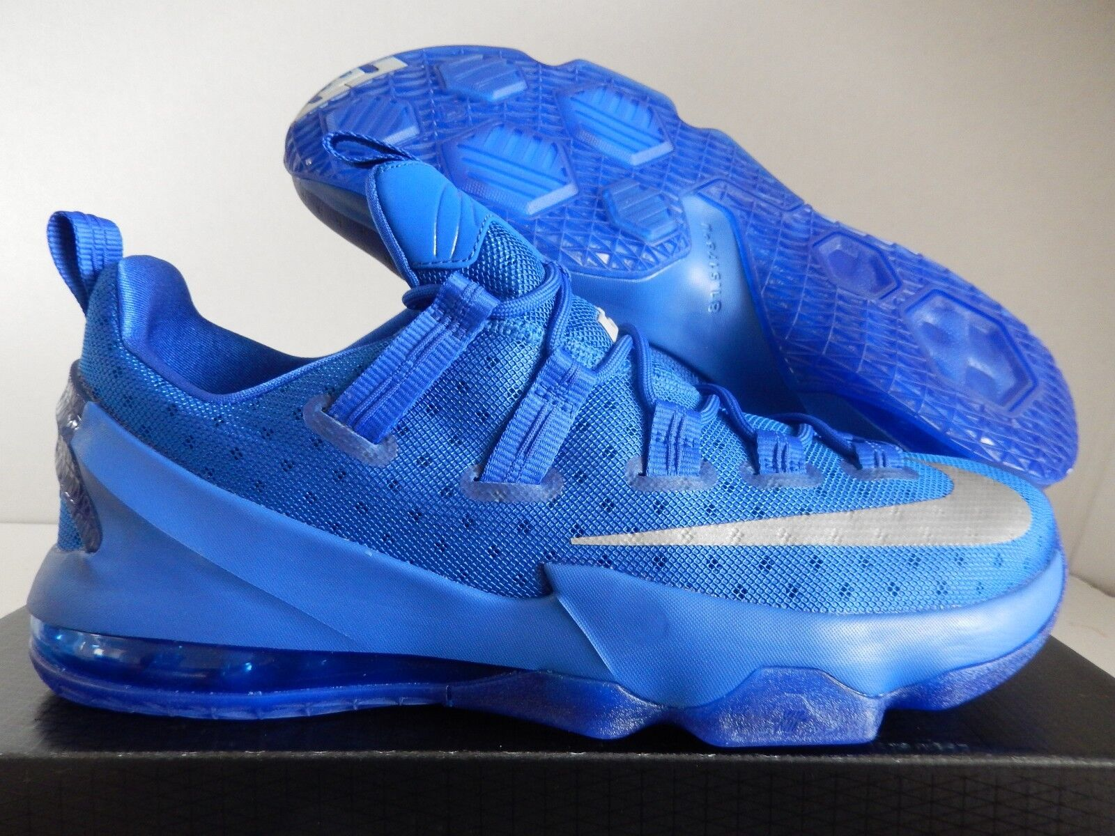 NIKE LEBRON XIII 13 LOW GAME ROYAL blueE  KENTUCKY blueE  SZ 13 [831925-400]