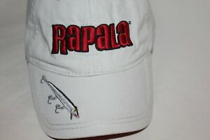 OUTDOOR HAT KHAKI//GRAY     BASS WITH RED LURE    ADJUSTABLE