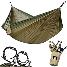 Lightweight Parachute Nylon Portable Hammock With Tr Foxelli Camping Hammock