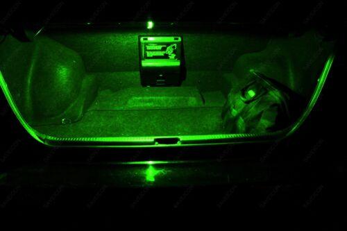 4 x Green 43mm 211-2 212-2 214-2 12SMD 1210 Rigid Loop LED Bulb Door Trunk TOOL