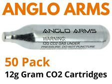 Umarex 50 Pack 12g Co2 Gas Capsule Cartridge Air Rifle Pistol Gun Airgun 12 Gram