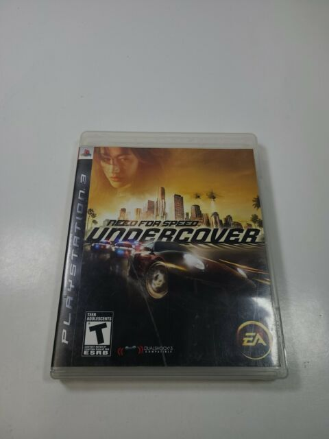 Need for Speed: Undercover (Sony PlayStation 3, 2008) Complete Tested