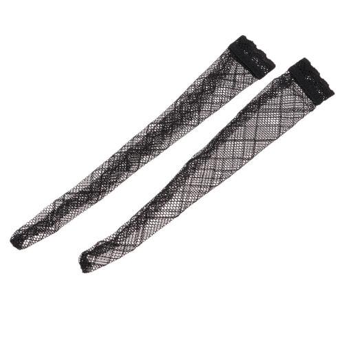 1:6 Scale Female Figure Stocking Socks Black for 12/'/' Phicen Kumik Body Accs