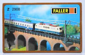 FALLER-2908-Spur-Z-Halterungen-fuer-Oberleitungsmasten-48-Stueck-OVP-top