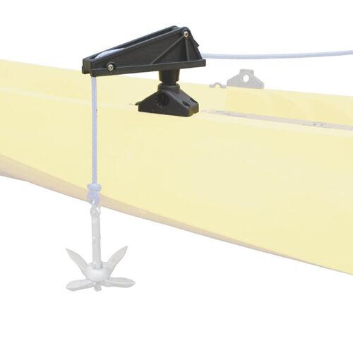 Nylon Kleine Boot Anker Steuerung Sperren Klampe Kajak Kanu Marine Seil Lift