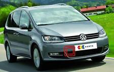 VW Sharan 10-16 NUOVO ORIGINALE PARAURTI anteriore Coperchio gancio di traino Cap 7n0807205
