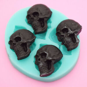 3D-Skull-Head-Chocolate-Silicone-Mold-Cake-Fondant-Mould-DIY-Baking-Decor-Tool