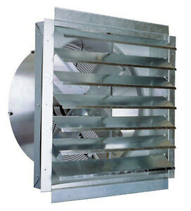 Industrial Exhaust Fan 24 Bathroom Kitchen Garage Home Commercial Heavy Duty Ebay