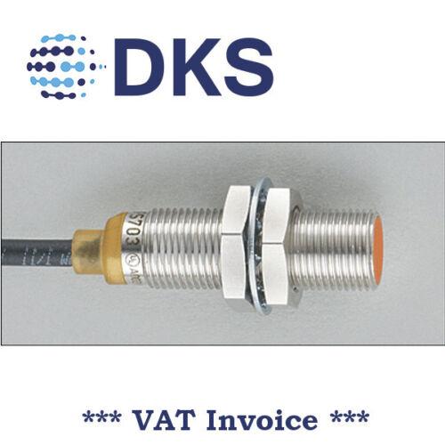 IFM IFS703 Inductive Sensor M12 DC PNP NO 4mm cable 2m 000256