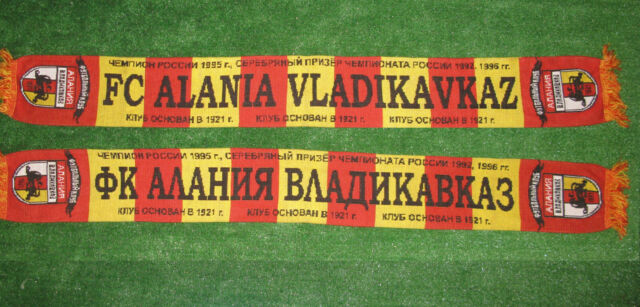 Alania Vladikavkaz Scarf Football Ultras Soccer Fan Scarves Very Rare Hooligans Ebay