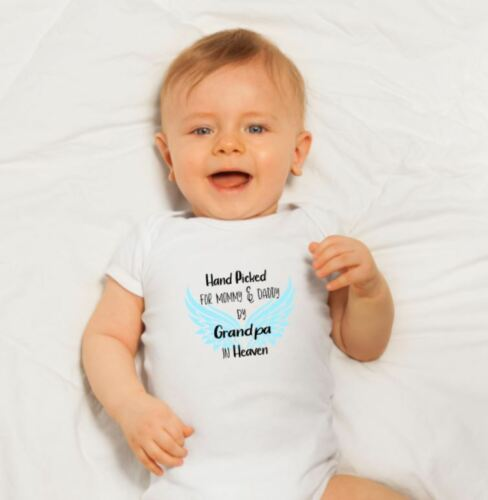 Hand Picked From Heaven ~ Sweet Baby Onesie ~ Free Shipping ~ Great Gift!