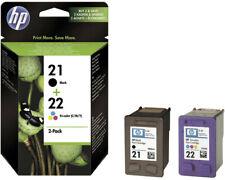 Artikelbild HP 21+22 Tintenpatrone 2er-Pack Schwarz Cyan Magenta Gelb SD367AE