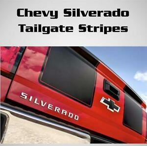 Chevy-Silverado-Gmc-Seirra-Tailgate-Racing-Stripes-Vinyl-Decal-Sticker-All-Years