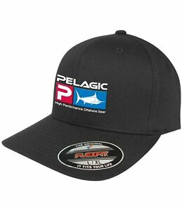 2eb5a9ae Details about New PELAGIC Flex Fit Deluxe Cap Fishing Hat 1201181007 - S/M  L/XL All Colors
