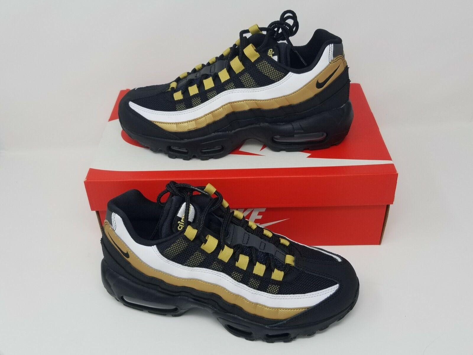 Nike Air Max 95 OG Black & gold AT2865-002 - New With Box