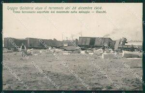 Reggio-Calabria-Citta-Terremoto-1908-Treno-cartolina-XB1944