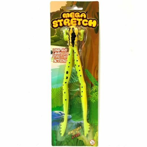 Stretchy Sensory Toy Assorted Colour Stretches to 5ft Mega Stretch Frog Toy