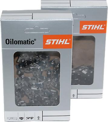 2 STIHL Sägeketten 3//8P-44E-1,3 Picco Micro 3 für Stihl 011 30cm 3636 000 0044