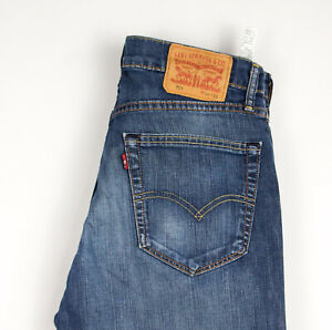 Levi-039-s-Strauss-amp-Co-Hommes-751-Extensible-Jambe-Droite-Jean-Taille-W34-L32