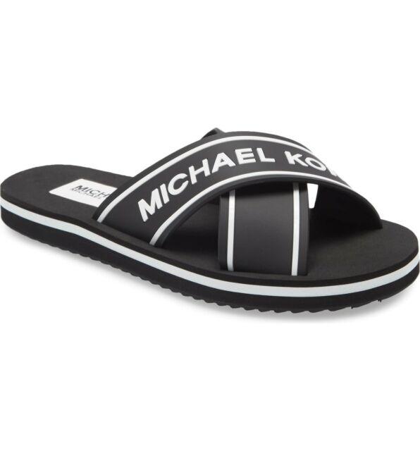 MICHAEL KORS Micahel Kors Women's Sparrow Slide Sandal Sz 8 NEW IN BOX Orig. $89