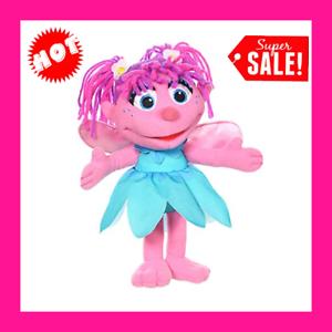 """Abby Cadabby Fairy Angel 10/"""" Sesame Street Plush Doll"""